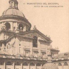 Postales: MONASTERIO DEL ESCORIAL PATIO DE LOS EVANGELISTAS 29/088. Lote 58341003