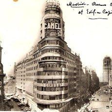 Postales: POSTAL 6 MADRID AVENIDA DE JOSÉ ANTONIO Y CAPITOL HELIOTIPIA ARTÍSTICA ESPAÑOLA FOTO SPAIN PHOTO. Lote 58391930