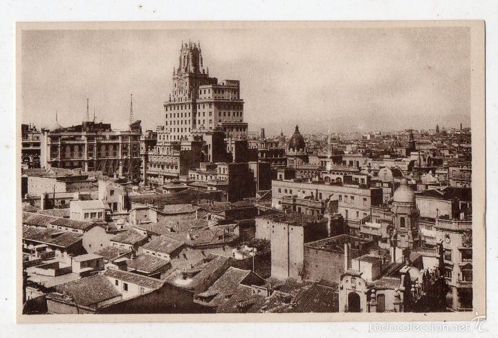 MADRID. VISTA DESDE EL EDIFICIO DE LA UNIÓN Y EL FENIX ESPAÑOL. (Postales - España - Comunidad de Madrid Antigua (hasta 1939))