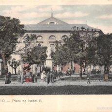 Postales: MADRID.- PLAZA DE ISABEL II. Lote 58465769