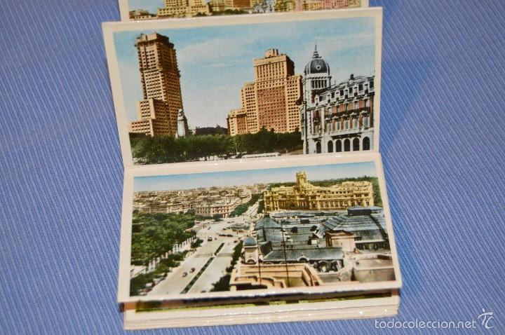 Postales: Librito, 24 FOTOGRAFÍAS EN COLOR - Recuerdo de MADRID - 1ª SERIE - Fotografías artísticas - Foto 4 - 58569664