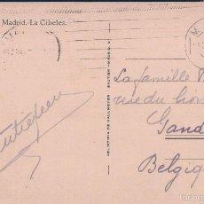 Postales: POSTAL MADRID 8.- CIBELES. HELIOTIPIA DE KALLMEYER. CIRCULADA. Lote 58649194