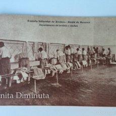 RARA Y ANTIGUA POSTAL DE ALCALA DE HENARES - ESCUELA INDUSTRIAL DE JOVENES - DEPARTAMENTO DE LAVABOS