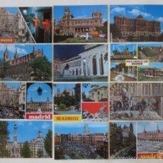 Postales: LOTE DE 12 POSTALES DE MADRID. Lote 59001960