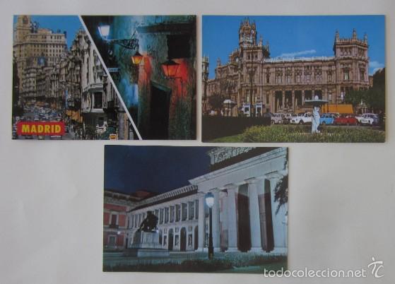 Postales: LOTE DE 12 POSTALES DE MADRID - Foto 2 - 59001960