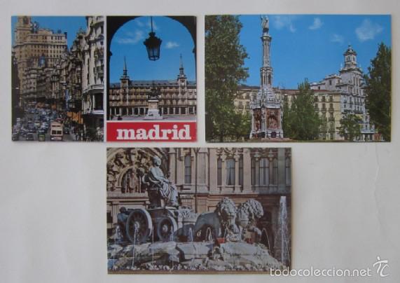 Postales: LOTE DE 12 POSTALES DE MADRID - Foto 3 - 59001960