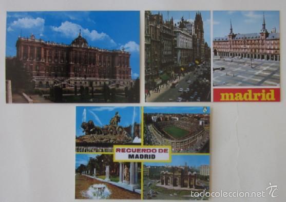 Postales: LOTE DE 12 POSTALES DE MADRID - Foto 5 - 59001960
