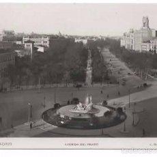 Postales: MADRID. AVENIDA DEL PRADO. ROISIN. 1934. Lote 59549735