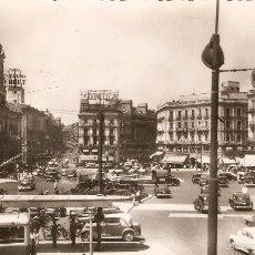 Postales - MADRID 48 PUERTA DEL SOL H.A.E. CIRCULADA EN 1955 - 59549803