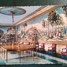 Postales: POSTAL DEL ESCORIAL. PALACIO DE LOS BORBONES. Lote 60290059