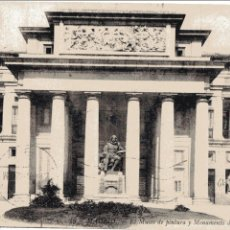 Postales: MADRID. EL MUSEO DE PINTURA Y MONUMENTO A VELAZQUEZ. LL.. Lote 60465555