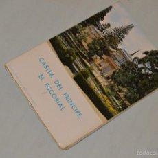 Postales: LIBRITO, 10 TARJETAS POSTALES - RECUERDO DE EL ESCORIAL - CASITA DEL PRÍNCIPE - MADRID. Lote 60802619