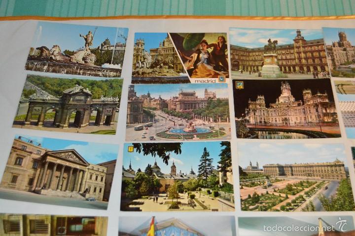 Postales: LOTE 26 Tarjetas POSTALES SIN CIRCULAR - Recuerdo de MADRID Y PROVINCIA - MIRA LAS FOTOS - Foto 2 - 60803159