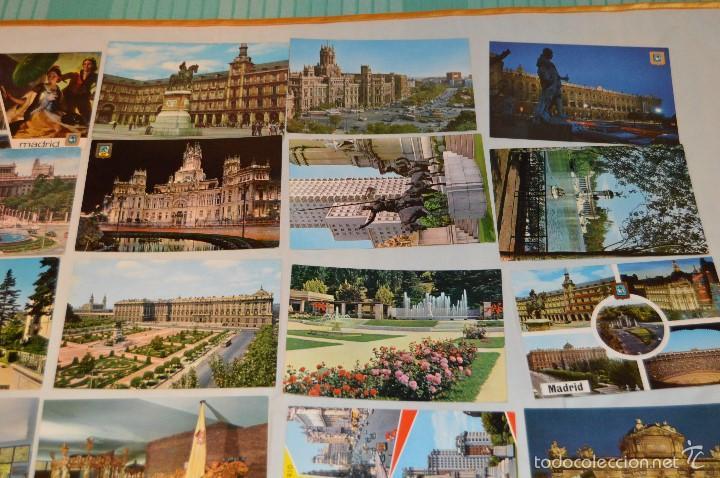 Postales: LOTE 26 Tarjetas POSTALES SIN CIRCULAR - Recuerdo de MADRID Y PROVINCIA - MIRA LAS FOTOS - Foto 3 - 60803159