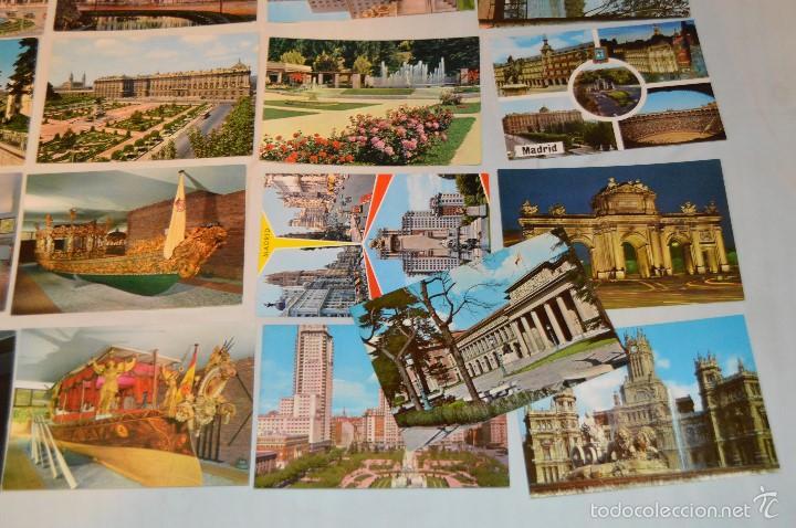 Postales: LOTE 26 Tarjetas POSTALES SIN CIRCULAR - Recuerdo de MADRID Y PROVINCIA - MIRA LAS FOTOS - Foto 4 - 60803159