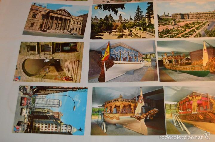 Postales: LOTE 26 Tarjetas POSTALES SIN CIRCULAR - Recuerdo de MADRID Y PROVINCIA - MIRA LAS FOTOS - Foto 5 - 60803159