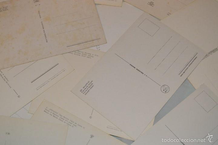 Postales: LOTE 26 Tarjetas POSTALES SIN CIRCULAR - Recuerdo de MADRID Y PROVINCIA - MIRA LAS FOTOS - Foto 8 - 60803159