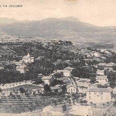 Postales: CERCEDILLA (MADRID).- LA COLONIA. Lote 61062799