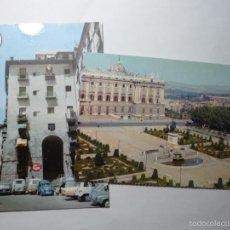 Postales: LOTE POSTALES MADRID PALACIO ORIENTE-ARCO CUCHILLEROS-COCHES BB. Lote 61146947