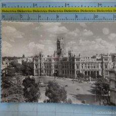 Postais: POSTAL DE MADRID. AÑOS 30 50. PLAZA DE CIBELES Y PALACIO DE COMUNICACIONES. 50 GARRABELLA. 1089. Lote 61290567