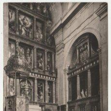Postales: SAN LORENZO DEL ESCORIAL,ALTAR MAYOR BASILICA Y TUMBA DE FELIPE II..SIN CIRCULAR (16-522). Lote 61481607