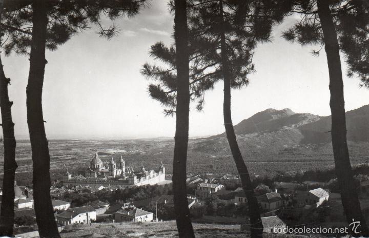 EL ESCORIAL. MADRID. MONASTERIO. VISTA GENERAL. SIN CIRCULAR (Postales - España - Madrid Moderna (desde 1940))