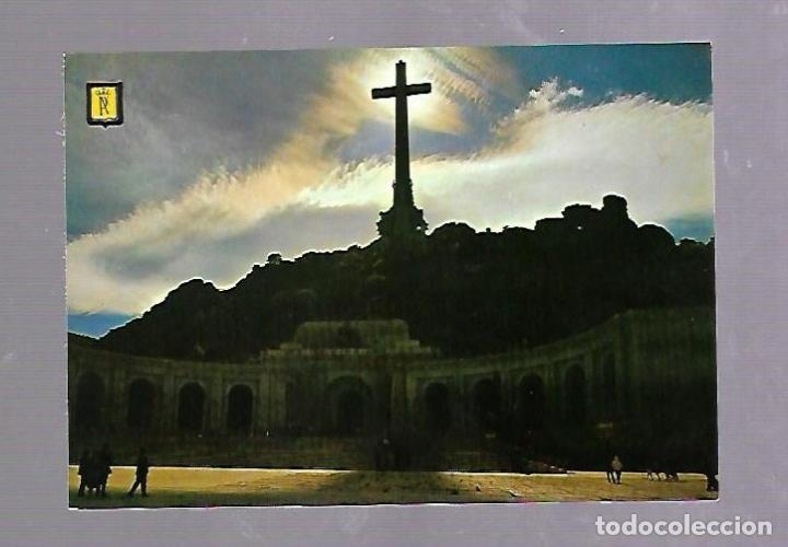 TARJETA POSTAL DE SANTA CRUZ DEL VALLE DE LOS CAIDOS, MADRID - FACHADA CONTRALUZ. 36. (Postales - España - Madrid Moderna (desde 1940))