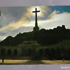 Postales: TARJETA POSTAL DE SANTA CRUZ DEL VALLE DE LOS CAIDOS, MADRID - FACHADA CONTRALUZ. 36.. Lote 62357688