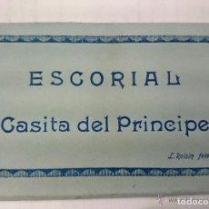 Postales: ALBUM POSTAL ACORDEÓN. ESCORIAL CASITA DEL PRÍNCIPE. ROISIN FOTO. EXCELENTE ESTADO. Lote 62391548