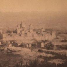 Postales: EL ESCORIAL SAN LORENZO PRESA DEL ROMERAL VISTA AEREA 1925. Lote 63143616