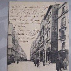 Postales: CARRERA SAN JERONIMO 119 MADRID VERTICAL - LACOSTE - CIRCULADA FECHADA 1908 UNICA TC. Lote 63771619