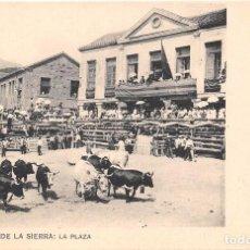 Postales: MIRAFLORES DE LA SIERRA (MADRID).- LA PLAZA. Lote 64652139