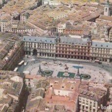 Postales: MADRID - PLAZA MAYOR -Nº 221 - IBERIA LINEAS AEREAS ESPAÑA AUTOBUS COCHES -AÑO 1960 NUEVA TAP AEREA. Lote 65974614