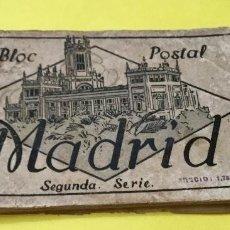 Postales: BLOC 12 POSTALES MADRID SEGUNDA SERIE. Lote 66301466