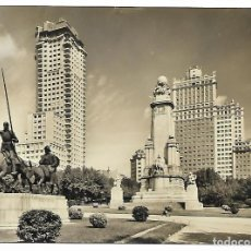 Postales: POSTAL MONUMENTO CERVANTES, 1960. Lote 66438238