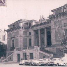 Postales: POSTAL MUSEO DEL PRADO. COCHES DE EPOCA. FOTOGRAFICA. CIRCULADA. Lote 67222685