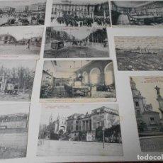 Postales: MADRID. LOTE DE 11 TARJETAS POSTALES DE PRINCIPIOS DEL SIGLO XX.. Lote 68932129