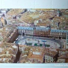 Postales: POSTAL PLAZA MAYOR (MADRID). PUBLICIDAD IBERIA LINEAS AEREAS DE ESPAÑA 1960.. Lote 69117553