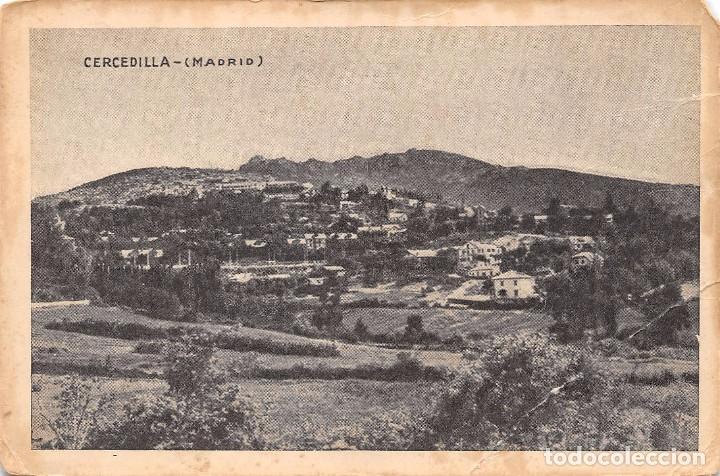 CERCEDILLA (MADRID) (Postales - España - Comunidad de Madrid Antigua (hasta 1939))