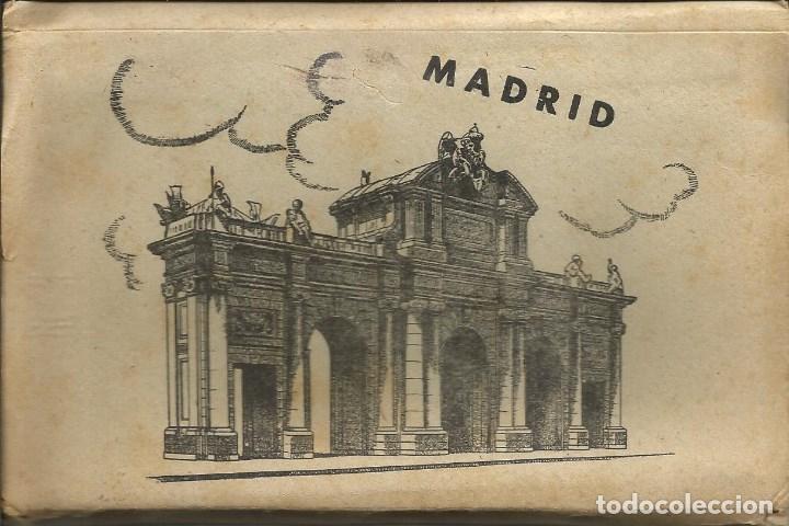 MADRID: BLOC CON 10 POSTALES ANTIGUAS DE GARCIA GARABELLA (Postales - España - Comunidad de Madrid Antigua (hasta 1939))