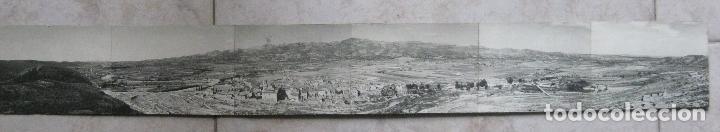 POSTAL PANORAMICA QUIEN SABE DONDE? 70 X 9 CM. (Postales - España - Comunidad de Madrid Antigua (hasta 1939))