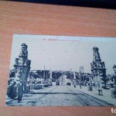 Postales: PUENTE DE TOLEDO - MADRID. Lote 71596643
