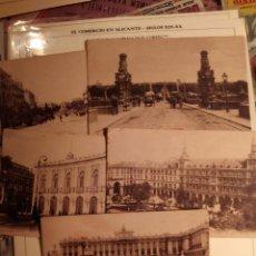 Postales: MADRID - LOTE POSTALES VISTAS VARIAS DE LA CIUDAD - AÑOS 20/30 SIN CIRCULAR. Lote 71819447