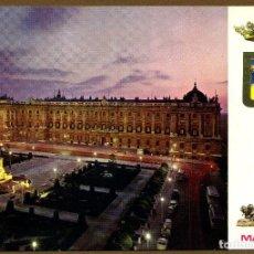 Postales: POSTAL DE MADRID - PLAZA DE ORIENTE Y PALACIO REAL. Lote 72305067