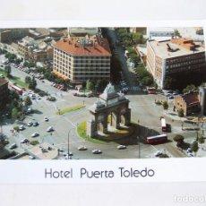 Postales: POSTAL AEREA PUBLICITARIA DEL HOTEL PUERTA DE TOLEDO DE MADRID. Lote 73126095