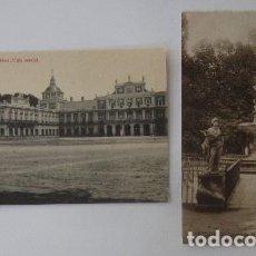 Postales: DOS POSTALES DE ARANJUEZ. Lote 73313847
