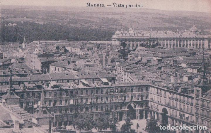 POSTAL DE MADRID. VISTA PARCIAL. J.ROIG. (Postales - España - Comunidad de Madrid Antigua (hasta 1939))