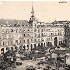 Postales: MADRID PLAZA MAYOR, UNION POSTAL UNIVERSAL, POSTAL SIN CIRCULAR DIVIDIDA.JMOLINA1946. Lote 74468787
