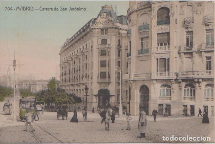 MADRID - CARRERA DE SAN JERONIMO (Postales - España - Comunidad de Madrid Antigua (hasta 1939))