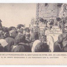 Postales: POSTAL. RECUERDO DE LA PEREGRINACIÓN SANTUARIO NTRA. SRA. DE LOS ÁNGELES. GETAFE 1910. MADRID. Lote 75112539